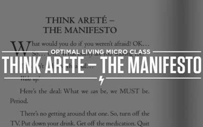 Think Areté – The Manifesto